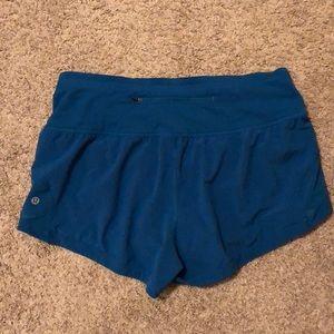Highwaisted lululemon shorts